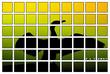 Leinwandbild Motiv United Colours of emotion