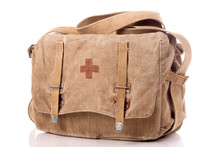 Old First Aid Military Bag