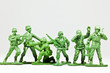 canvas print picture - The group of toy soldiers