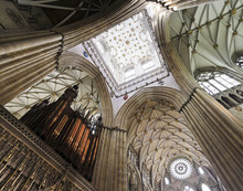 A View Of The York Minster Cho...