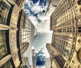 Panel Szklany Nowy York Majesty of New York City Skyscrapers