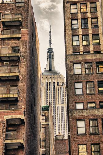 New York City Manhattan Skyline - 45796234