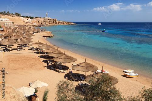 Tuinposter Egypte beach on Red Sea, Sharm el sheikh