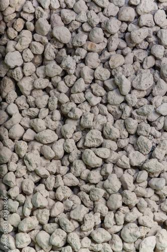 In de dag Stenen Small gravel.