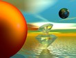 sun and planet