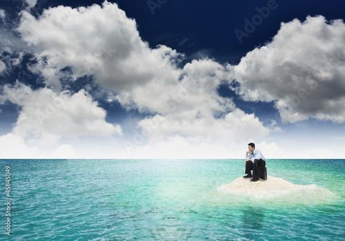 Fotografie, Obraz  Business Problem : Frustation / Bankruptcy