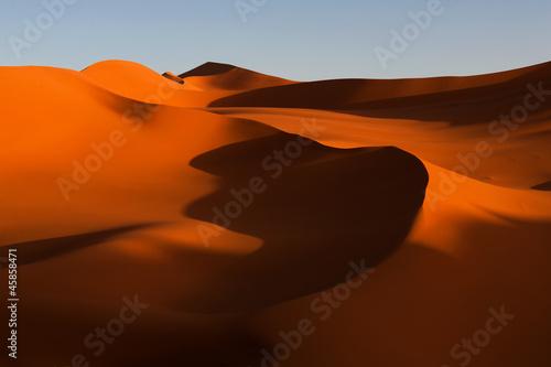 Poster Algérie Sand art, desert