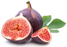 Figs With Leaves.