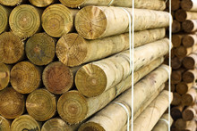 Pallet Of Fencing Posts