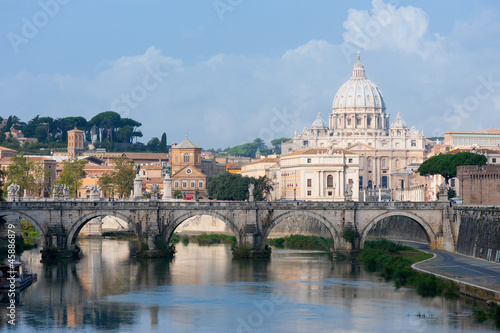Fototapeta View on Vatican