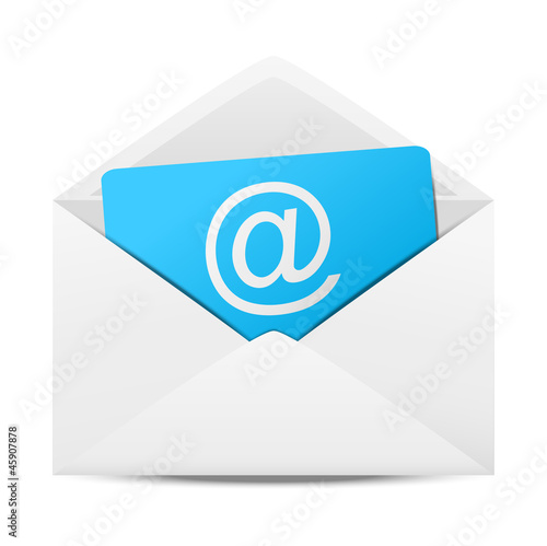 Fotomural  Email concept