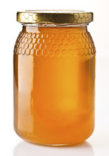 Honey Pot Preserved, Isolated On White