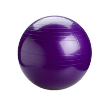 Violet Gyms Ball Or Yoga Ball Isolated