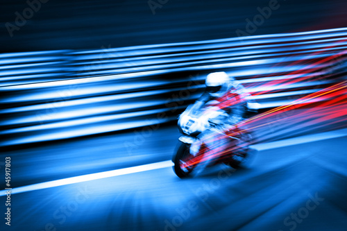 high speed motorcycle #45917803