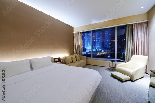 Photo  Luxurious hotel room