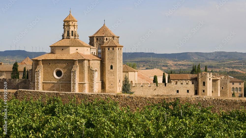 Fototapety, obrazy: Monastic site of Poblet