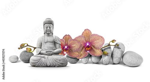 Pinturas sobre lienzo  Bouddha et Bien-être