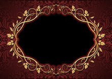 Maroon And Black Background
