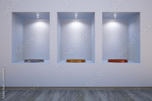 Fotografie, Obraz  Shelves