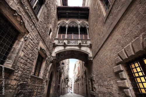 Carrer del Bisbe (Bishop Street). Spain. Barcelona. #45971449