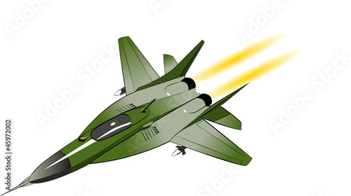 Poster Militaire Fighter bomber