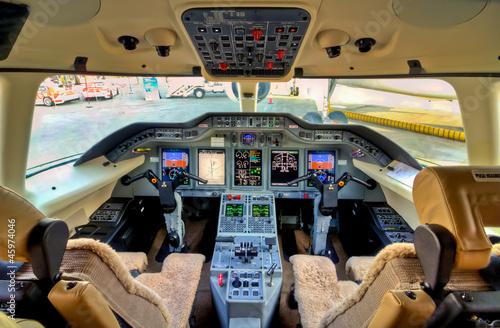Fotografia Cockpit View