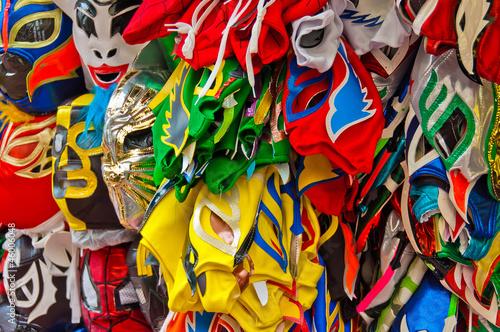 Foto op Plexiglas Paradijsvogel Wrestling masks