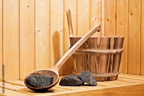 Plissee mit Motiv - Wellness & Entspannung | Sauna Aufguss