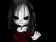 Halloween Goth Girl