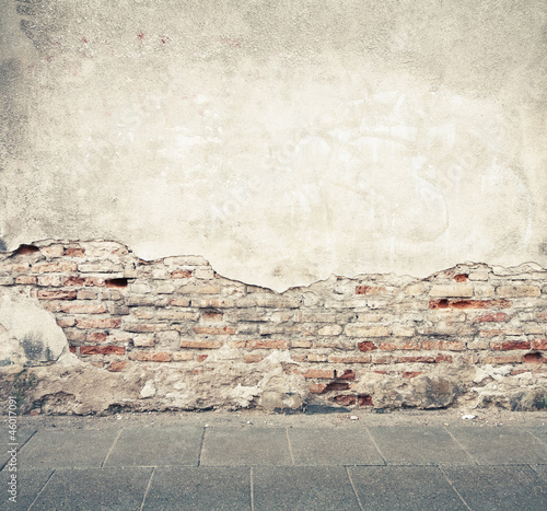 Spoed Foto op Canvas Graffiti Wall texture