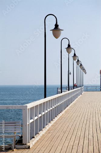 Fotobehang Pier Wooden pier