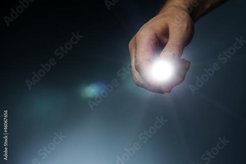 Obraz Flashlight - fototapety do salonu
