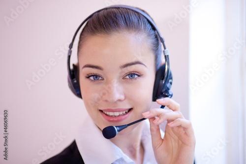 Fotografía  Receptionist or personal assistant