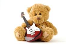 Musizierender Teddy