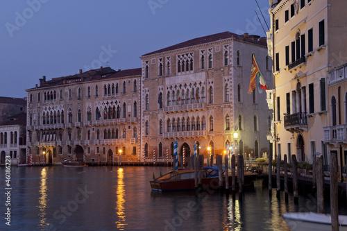 Cadres-photo bureau Venice sunrise over the canal grande