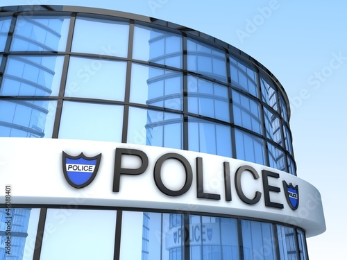 Fotografía Police Building