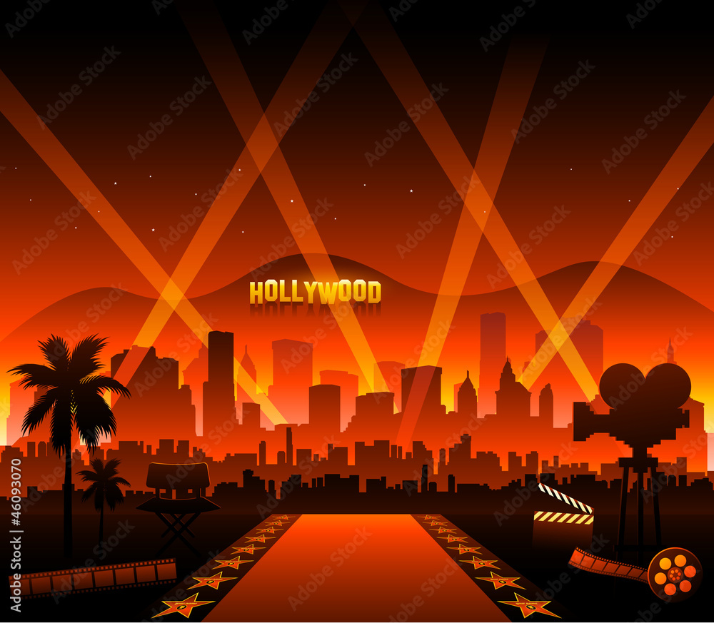 Photo  Hollywood movie red carpet