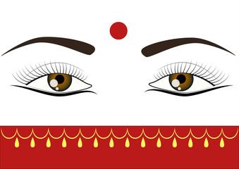 bindi eyes