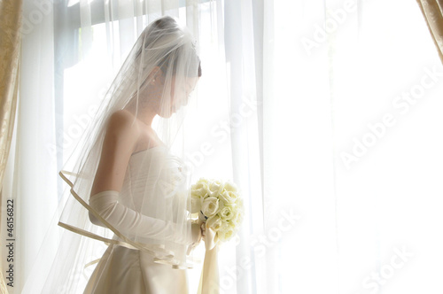 Leinwand Poster Braut