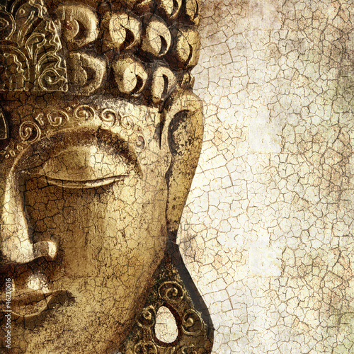 Tuinposter Boeddha Old Buddha