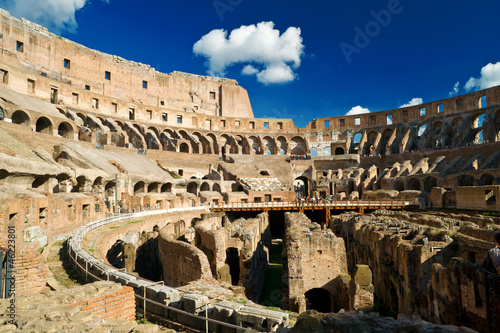 Photo  Inside of Colosseum in Rome