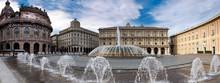 Piazza DE Ferrari In Genova, I...