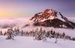 Winter mountain landscape - Slovakia