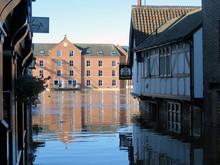 Flooded York City Street