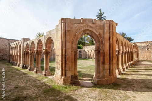 Monasterio de San Juan de Duero in Soria,Spain