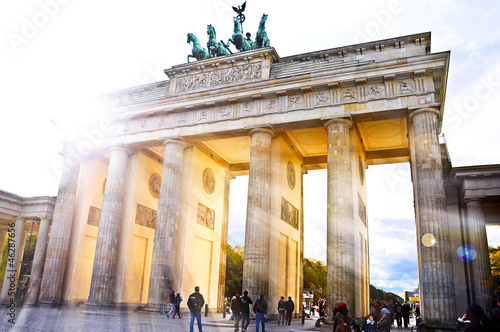 Keuken foto achterwand Berlijn Brandenburger Tor Berlin- weitere Berlinbilder im Portfolio
