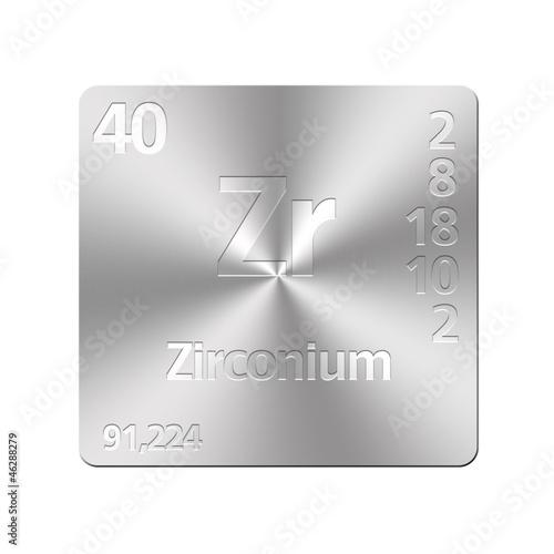 Fotografia, Obraz  Zirconium.