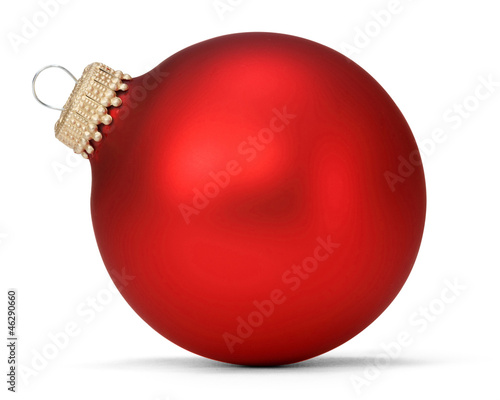 red christmas ball Canvas-taulu