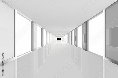 Obrazy powiększające wnętrze   korytarz-przejscia