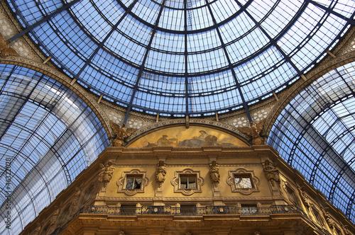 Aluminium Prints Train Station Milan - Vittorio Emanuele II gallery - Italy